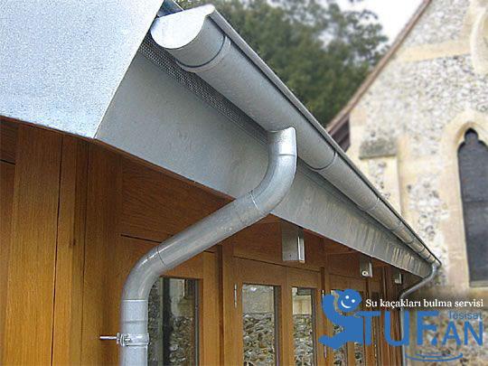 çatı olukları nasıl temizlenir