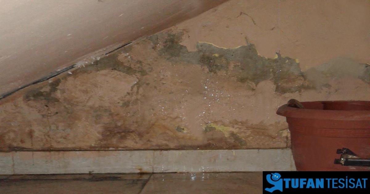 merdiven altı su kaçağı tespiti